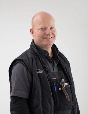 Karsten Pedersen Montageansvarlig