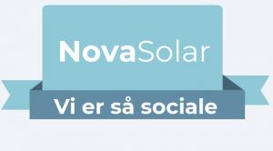 Følg NovaSolar på vores sociale kanaler