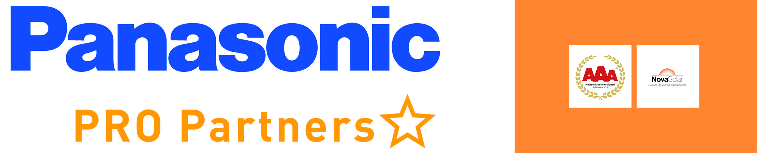NovaSolar er Panasonic Pro Partner